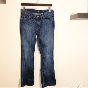 7 for All Mankind Bootcut Jean, Size 29!
